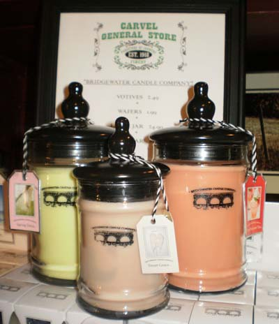 bridgewater candle samples