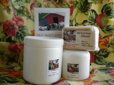 old goat soap products